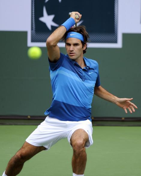 Federer, campion la Indian Wells