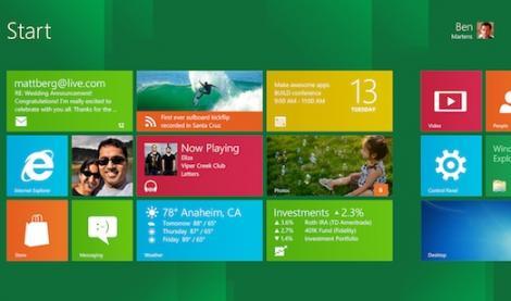 Windows 8, peste 1 milion de descarcari in doar 24 de ore