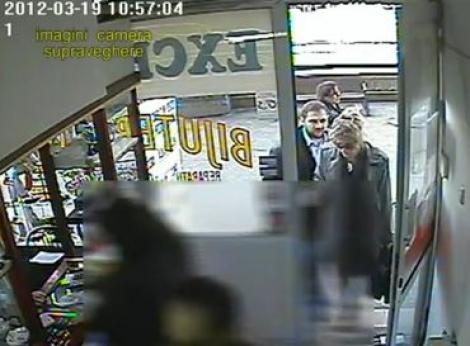 VIDEO! Primele imagini de la jaful de 100.000 de euro si semnalmentele suspectilor