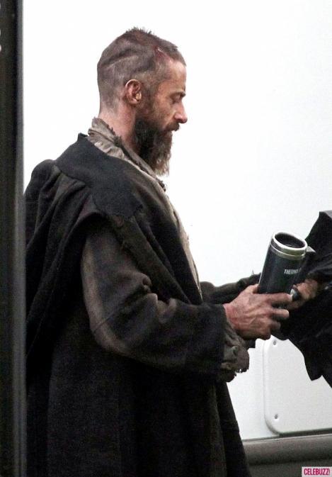 FOTO! Hugh Jackman, de nerecunoscut! Actorul arata ca un om al strazii!