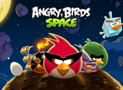 Angry Birds Space a batut orice record in doar 3 zile