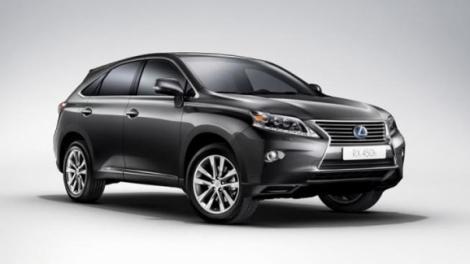Lexus lanseaza noile RX 450h si RX 450h F-Sport