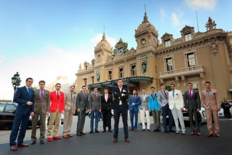 Alexandru Ciucu s-a remarcat la Monte Carlo! Milionarii lumii au pus ochii pe costumele lui!