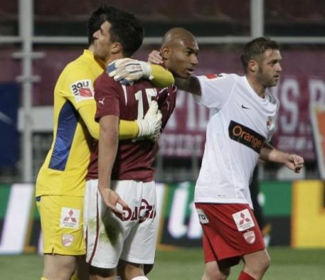 Rapid - Dinamo 0-0 / Derby slab