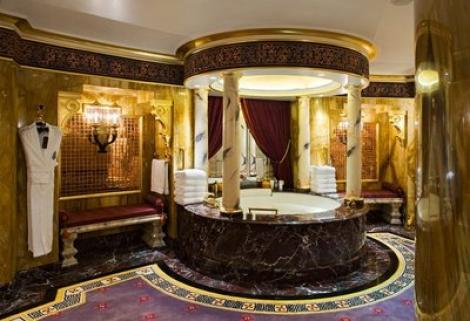 FOTO! Imagini din interiorul celei mai scumpe camere de hotel din lume