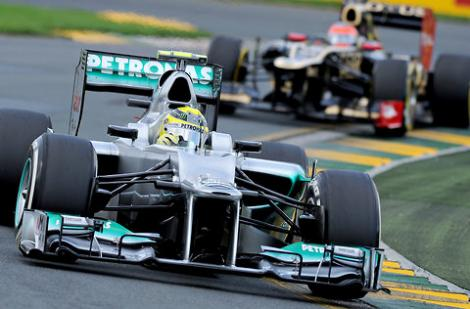 Nico Rosberg va pleca din pole position in Marele Premiu al Chinei