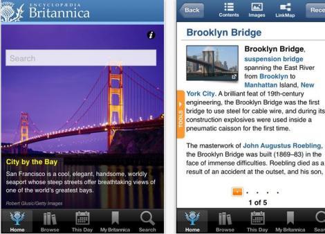 Enciclopedia Britannica este disponibila in versiunea pentru iPad si iPhone