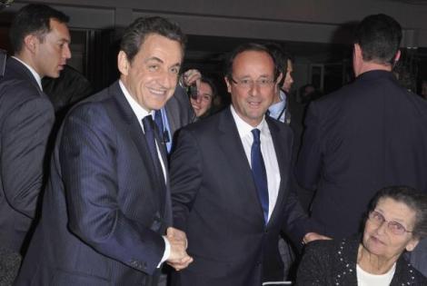 Ultima zi de campanie in Franta, Hollande favorit