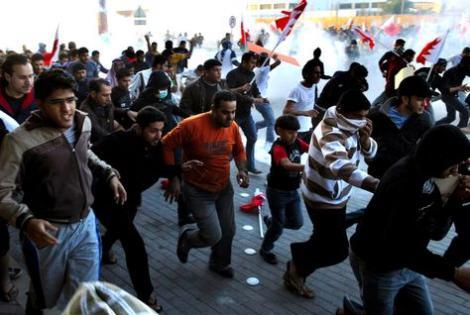 VIDEO! Ciocniri violente inainte de Formula 1, in Bahrain