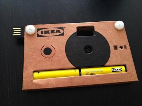 Ikea va lansa o camera foto digitala din carton