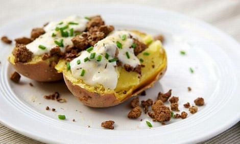 Gustare rapida: Rețeta Cartofi dulci, copti la gratar
