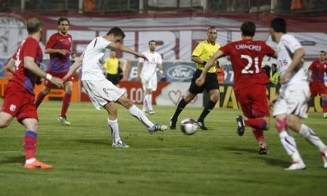 FOTO! Rapid si Steaua au remizat, scor 1-1, in Giulesti