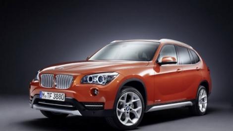 BMW X1 cu facelift - poze in avampremiera