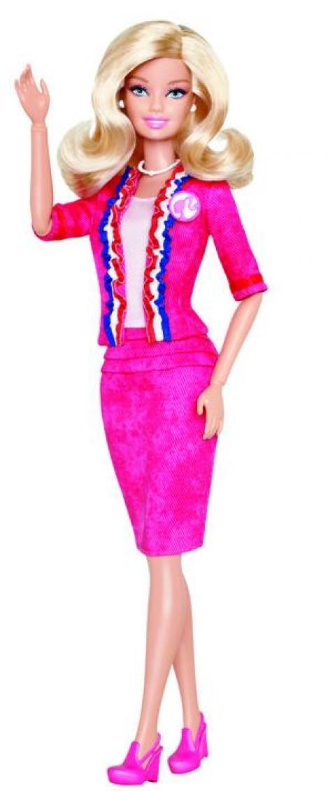 Papusa Barbie candideaza la presedintia SUA