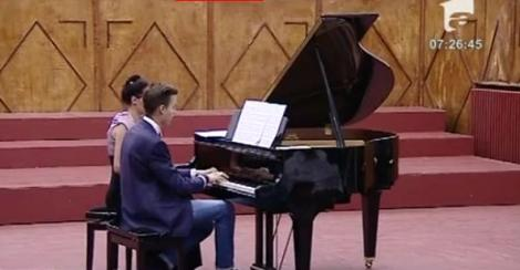 VIDEO! Concurs National de Interpretare Pianistica si Muzica de Camera, in Bucuresti