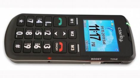 S-a lansat un nou telefon mobil pentru varstnici
