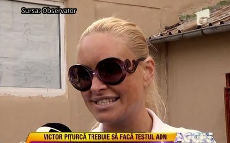 VIDEO! Balerina contraataca: Victor Piturca, obligat sa faca testul ADN!