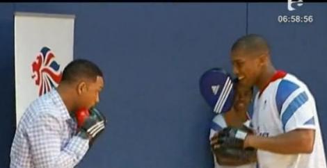 VIDEO! Will Smith s-a antrenat cu patru atleti care participa la Jocurile Olimpice
