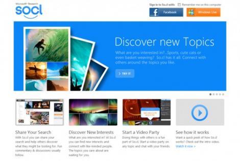 Microsoft a lansat o retea sociala pentru studenti
