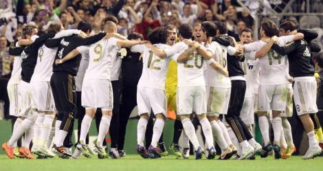 Real Madrid a castigat titlul in Primera Division