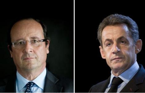 Ultima zi de campanie in Franta: Sarkozy a mai recuperat din diferenta fata de Hollande