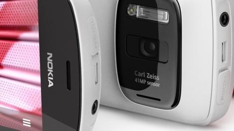 Nokia lanseaza un telefon cu camera foto de 41 megapixeli