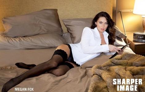 FOTO! Megan Fox, fierbinte in jartiere!