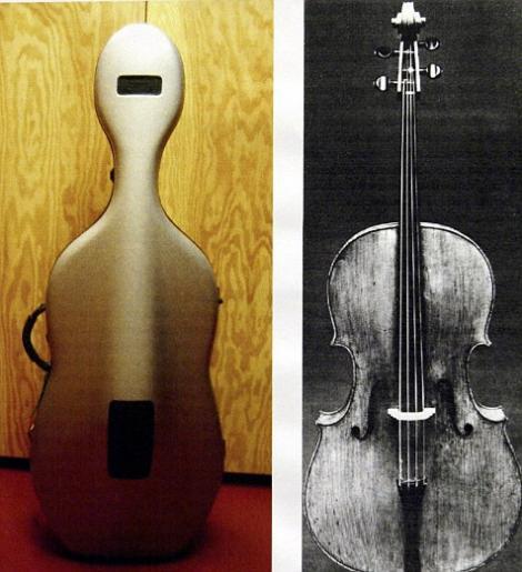 Un violoncel Stradivarius de 20 de milioane de dolari a fost stricat la o sedinta foto