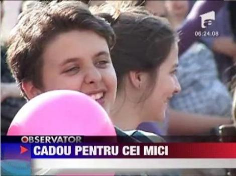 VIDEO! Ziua Copilului, sarbatorita in avans la Pitesti