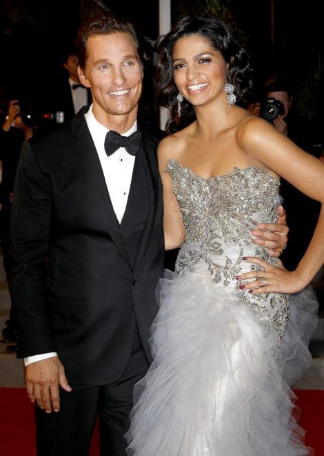 Matthew McConaughey s-a casatorit cu Camila Alves