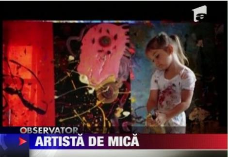 VIDEO! Cel mai tanar pictor de succes din lume