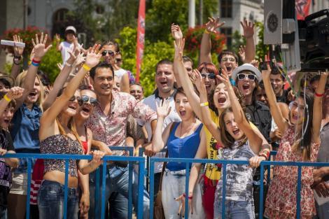 Razvan a plecat de la auditiile X Factor direct la serbarea fiicei sale