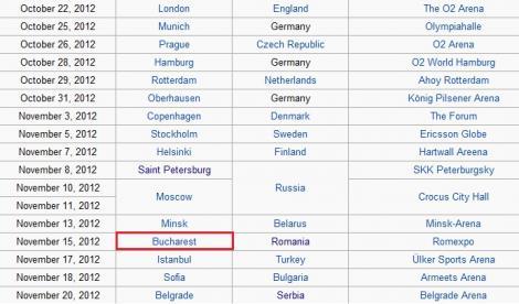 FOTO! Jennifer Lopez va concerta in Romania! Afla cand si unde!