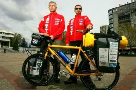 VIDEO! JO 2012: Douazeci de croati vor pedala din Zagreb pana-n Londra!