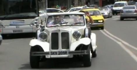 VIDEO! Parada masinilor de epoca la Satu Mare