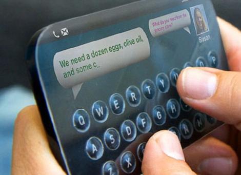 Viitorul tehnologiei touchsreen: Butoane care apar si dispar de pe suprafata ecranelor