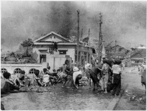 Aceasta este prima imagine de dupa tragedia de la Hiroshima!