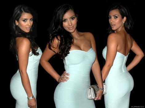 Kim Kardashian, nemultumita de partea corpului care a facut-o celebra