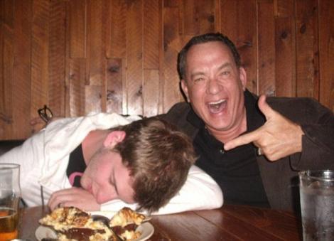 """Tom Hanks nu da inapoi de la o farsa buna. Vezi ce i-a """"inscenat"""" actorul unui fan!"""