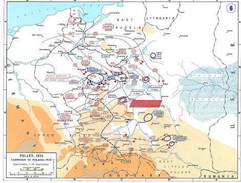 1 septembrie 1939: Germania a atacat Polonia. A inceput Al Doilea Razboi Mondial