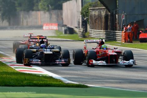 Hamilton castiga Marele Premiu al Italiei