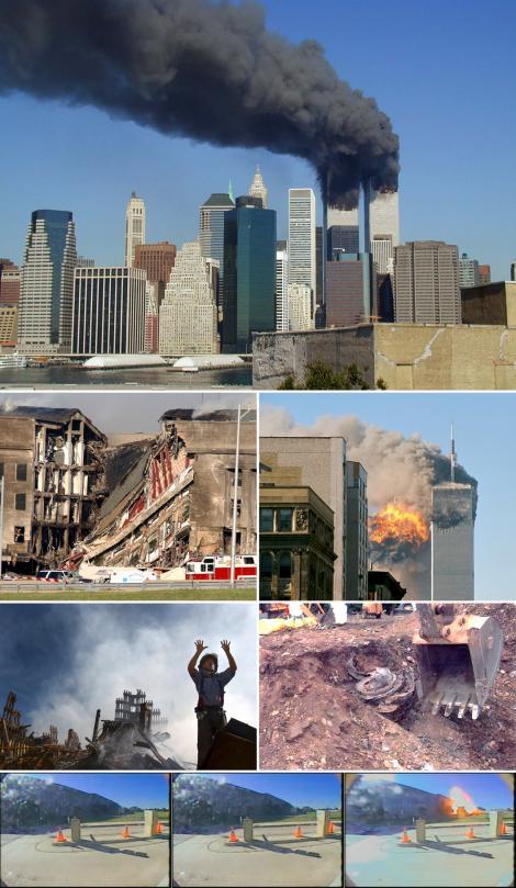 11 septembrie 2001: Au avut loc atentatele sinucigase de la World Trade Center