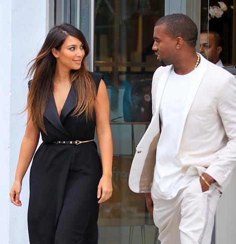 Kanye West, cadouri de un milion de dolari pentru aniversarea lui Kim Kardashian