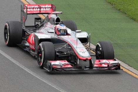 Jenson Button a castigat Marele Premiu de Formula 1 al Belgiei. Vettel si Raikkonen, pe podium