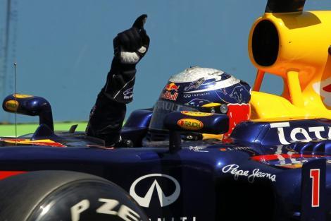 F1: Sebastian Vettel a castigat Marele Premiu din Singapore