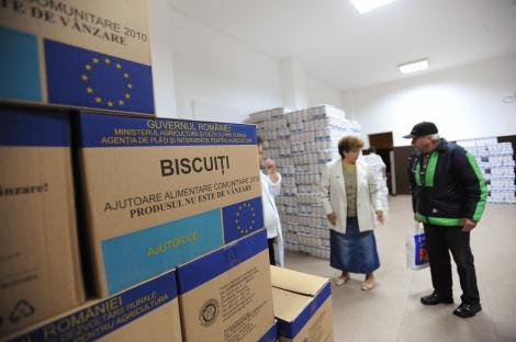 Doua tone de alimente de la Uniunea Europeana au expirat intr-un depozit din Dolj