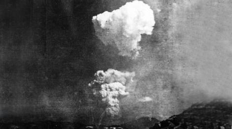 Super-raritate: norul de la Hiroshima, fotografiat de pe pamant!