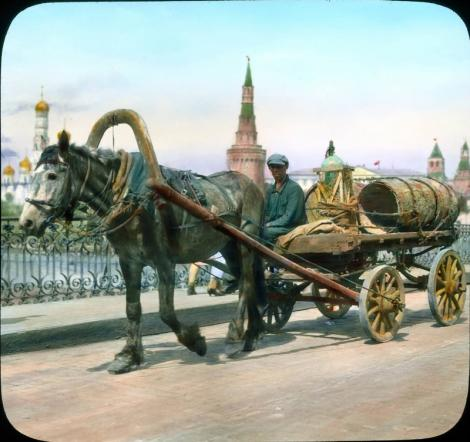 Moscova, 1931. In fotografii color!