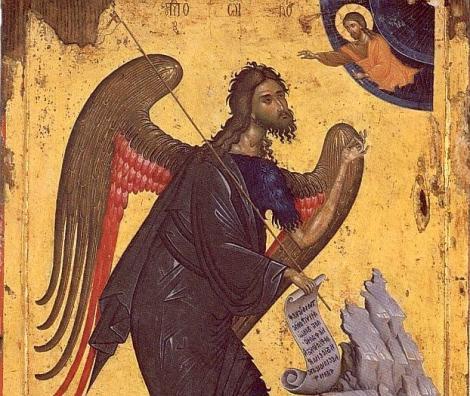 Romanii il sarbatoresc astazi pe Sfantul Ioan Botezatorul