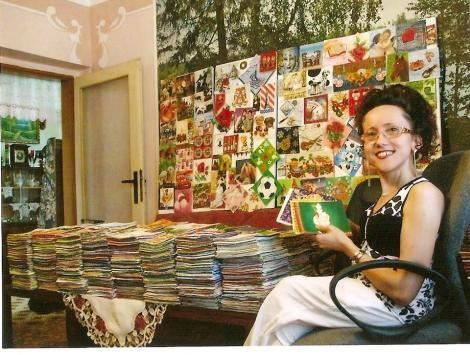 Record mondial! O femeie din Slovacia detine cea mai mare colectie de servetele din lume: 62.757 de bucati!